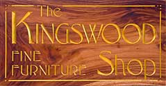 kingswood gallery sign